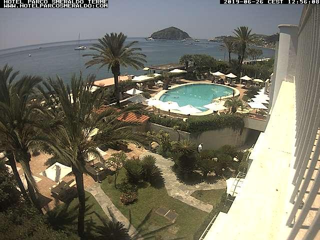 Webcam Ischia - Hotel Parco Smeraldo Terme